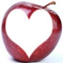 pomme coeur a croquer