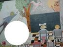 Fresque-Classe primaire -1 photo