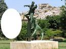Statue taureau et raseteur