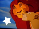 lion king Mufasa and Sarabi