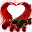 corazon de rosa