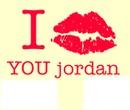 i love you jordan