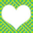 coeur dans l'illusion