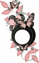 pale pink butterflies