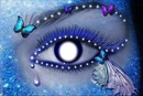 blue butterfly eye bb