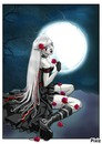 fille lune
