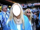 Camiseta argentina mujer
