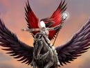 unicornio y guerrera