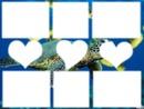 tortue de mer ( avec 8 cadres )