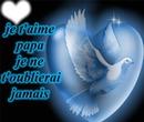 Papa tu es au paradis.♥ :'(