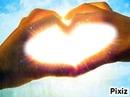 coeur iluminer