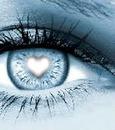 """"""" Coeur dans l'oeil """""""