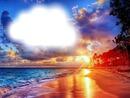 Coucher de soleil-nuages