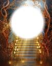 Escalier-lune-lampions