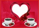 cadre coeur café