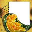 Andrea51 /fantasy flower frame/