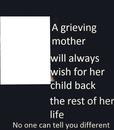 GRIVING ANGEL MOM