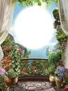 Fenêtre-balcon-fleurs