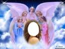 angeles en el cielo