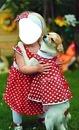renewilly niña con perro