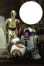 Star wars, BB8, R2D2, C3PO