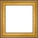 gold frame square fancy