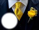 Fleur à la boutonnière