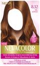 Nevacolor Premium Kalıcı Krem Saç Boyası Seti 8.32 Bal Köpüğü