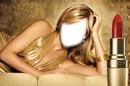 Avon Ultra Color Rich 24k Gold Ruj Kız Sahne