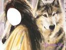 woman adn wolfe