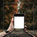 cadre main avec gsm 1 photo