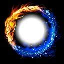 Círculo de fuego y agua