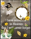 i have someone in heaven that i will never forget