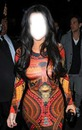 kim kardashians dress