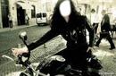 femme motarde