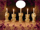 5  CANDLE ANGELS