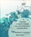 Boa Tarde! *Por Maria Ribeiro*