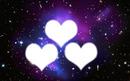 Galaxie 3 coeurs