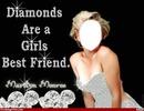 les diamants sont un meilleur ami des filles