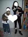 Moi et mon frere et nos deux chat!