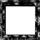 4 photos cadre noir et blanc