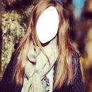 güzel kız yüzü fotomontage
