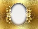 Cc cuadro dorado