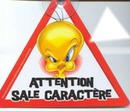 Attention sale caratere