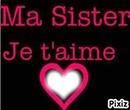 Je T'aime Sister <3