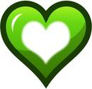 coração verde