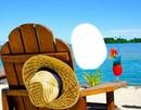 fauteuil face à la mer