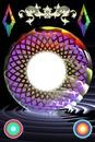 """""""fantasie met gekleurde cirkels"""""""