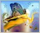 femme papillon