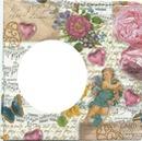 partition ange fleurs